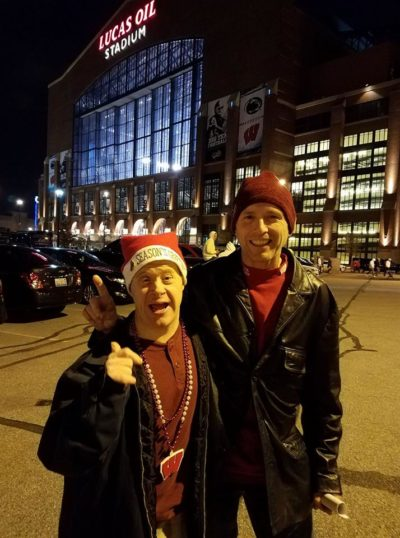 Steve spends his free time going to Badgers games with his wife and brother-in-law.